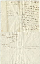 1823 Thomas Bruce 7th Earl of Elgin Autograph Letter Signed