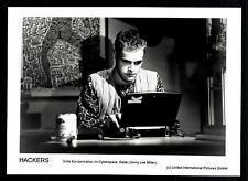 6 Original Pressefotos Hackers mit Jonny Lee Miller ## G 11537