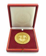 #e5352 Ehrenplakette MdI / Deutsche Volkspolizei DVP goldfarben & Etui