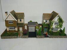 Model Railway Diorama of Superquick Detached Houses 00 Gauge