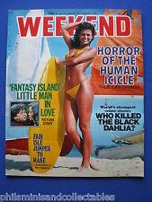 Weekend Magazine - Herve Villechaize, George Adamson  30th Dec 1981