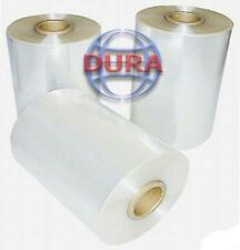 "14"" 4370 ft Central Fold 60 Ga Clear Polyolefin Shrink Wrap Heat Shrinking Film"