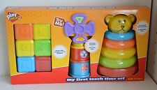 NEW Play Right TEACHING My First Teach Time Set Ages 12M+ Learn Color Alphabet