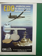 10/2005 PUB EDO CORPORATION ANTENNA ANTENNES IFF RADAR ANTI-JAM GPS DF EW/ESM AD