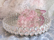 VANITY TRAY Austrian Crystal mirror Dresser shabby and chic GReAT CHRISTMAS GIFT