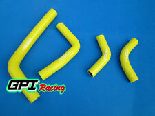 FOR Honda CRF250 CRF250X CRF250R 2004-2009 05 06 Silicone Radiator Hose yellow