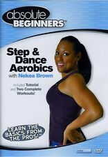 Absolute Beginners: Step & Dance Aerobics With Nekea Br (2009, REGION 0 DVD New)