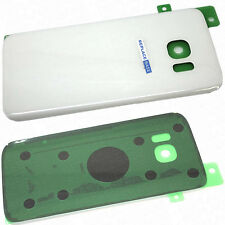 For Samsung Galaxy S7 Replacement Glass Battery Rear Panel Cover White OEM
