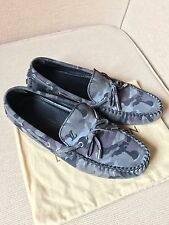 Louis Vuitton Monogram Camouflage Men's Loafers Driving Shoes
