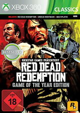Red Dead Redemption -- Game of the Year Edition (Microsoft Xbox 360, 2015,...