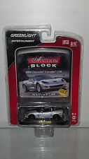 1/64 GREENLIGHT AUCTION BLOCK 2009 CHEVROLET CORVETTE C6 CSR COUPE SILVER B19