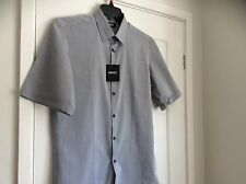 DKNY Donna Karan New York Shirt Short Sleeved Men's S BNWT