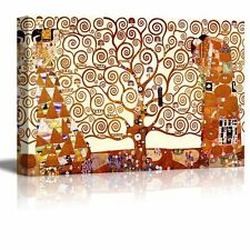 "Wall26 - ""Tree of Life"" by Gustav Klimt - Canvas Art Home Decor - 32x48 inches"