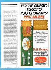 AIRONE983-PUBBLICITA'/ADVERTISING-1983- LAZZARONI - BISCOTTO PETIT BEURRE