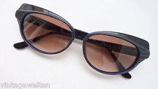 Bellos señora gafas de sol en Cat-Eye-Optik negro 70er True vintage nuevo