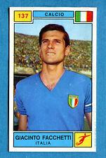 Figurina CAMPIONI DELLO SPORT 1969/70-n.137- G. FACCHETTI (ITA)-CALCIO-rec