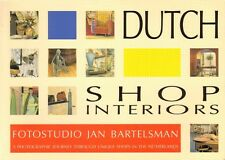 DUTCH SHOP INTERIORS - Fotostudio Jan Bartelsman (1998)