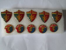 lotto 10 pins lot GENOA FC club spilla football calcio soccer pins badge spille
