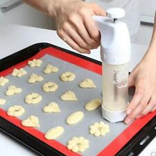 New Kitchen Cookie Mould Gun Press Icing Set Mould Mold Baking Decorate Set J
