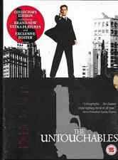 THE UNTOUCHABLES GENUINE R2 DVD KEVIN COSTNER COLLECTOR'S EDITION/POSTER NEW