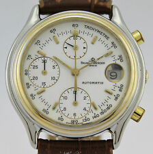 BAUME&MERCIER AUTOMATIC CHRONOGRAPHE BAUMATIC 6103 GOLD AND SS