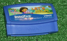 VTECH InnoTAB GAME DORA THE EXPLORER LET'S HELP! CARTRIDGE ONLY tested & GWO