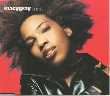 MACY GRAY I Try 4TRX w/ 3 RARE REMIXES Europe CD single SEALED USA Seller 1999