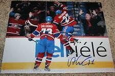Alex Galchenyuk signed 11x14 photo Montreal Canadiens First NHL Goal COA