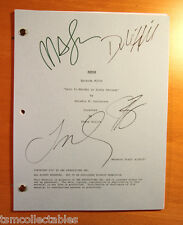 PSYCH autographed script James RODAY Dule HILL Timothy OMUNDSON Maggie LAWSON