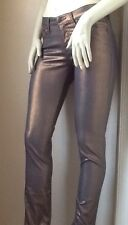 Rock & Republic Nieman Marcus Berlin Super Skinny Jeans Metallic Bronze 2