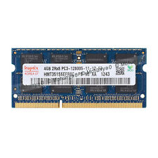 100% New Hynix 4GB DDR3 1600 MHz PC3-12800 Sodimm Laptop Memory RAM Kit 4 G GB