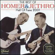 Country Music Hall Of Fame 2001 - Homer & Jethro (2003, CD NIEUW)