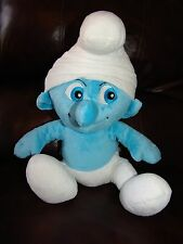 Build a Bear The Smurfs Boy Smurf Plush Doll 16""