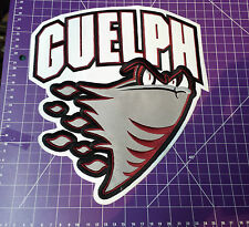 GUELPH STORM Iron On Hockey Jersey high detail embroidered patch crest