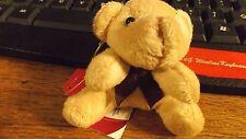 brown bear plush  key ring