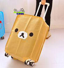 "28"" Rilakkuma San-X Bear Luggage Protector Suitcase Cover Bags Dust-proof"