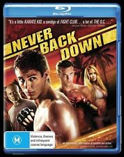 Never Back Down Blu-ray Disc NEW