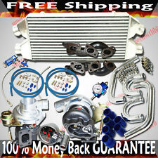 Turbo Kits TWIN GT3076 Turbo for 90-96 Nissan 300ZX Turbo Coupe 2D 3.0L V6 DOHC