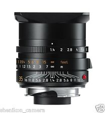 New Unused Leica SUMMILUX-M 35mm F1.4 f/1.4 ASPH. Black 6-Bit M 240 M9 M8 11663
