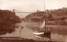 Clifton Suspension Bridge River Boats Bateaux Pont