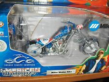 Toy 1:18 Orange County Choppers Miller Welder Bike Diecast Motorcycle