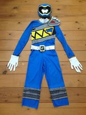 Power Rangers Dino Charge Blue Costume Aged 6-7