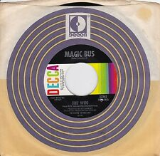 """The Who """"Magic Bus"""" & """"Someone's Coming"""" 1968 NM Condition R.Daltry P.Townshend"""
