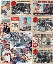 CLEVELAND INDIANS 5000 BASEBALL CARDS A NICE MIX AND FUN TO COLLECT READ