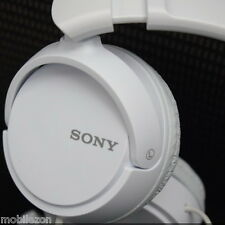 *ORIGINAL SONY MDR-ZX110 EXTRA BASS STEREO HEADPHONE EARPHONES WHITE