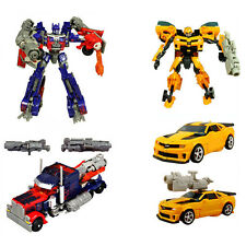2XNew Action Movie Transformers Voyager Leader Class Optimus Prime & Bumblebee