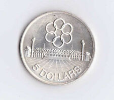 Singapore 1973 $5 Silver UNC Only 250,000 Minted Sports Commemorative SEAP