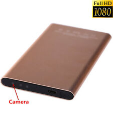 Full HD 1080P DVR Spy Hidden Camera Mobile Power Bank IR Lamp Video Recorder Cam