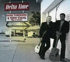 Delta Time - Hans & Terry Evans Featuring Ry Cooder Theessink (2012, CD NEUF)