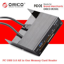 "ORICO Desktop PC Case 3.5"" Internal SD/TF/MS/MD/CF/M2 USB 3.0 Memory Card Reader"